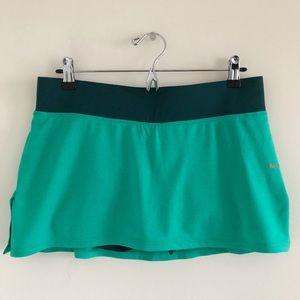 🆕 Nike Dri-Fit Green & Teal Tennis Skirt Size Med